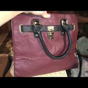 Handbags - Plum handbag